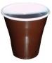 Пластмасови чаши - кафеви